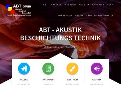 ABT GMBH – Akustik und Beschichtung